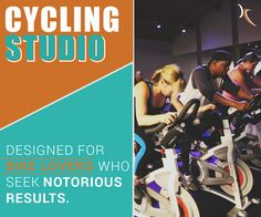 Kinetic's highly-trained cycling instructors will deliver an engaging, dynamic cardiovascular workout to an energizing music selection in our top-of-the-line cycling studio. A variety of classes incorporating intense interval drills and endurance rides will keep your heart pounding and legs moving.