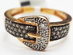 Belt Buckle Ring at Aquamarine Jewelers