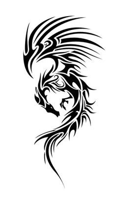1000 images about dragons on pinterest tribal dragon