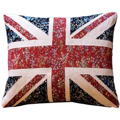 Pillow Decor United Kingdom Flag Tapestry Throw Pillow 15x19 ($80) ❤ liked on Polyvore featuring home, home decor, throw pillows, pillows, decorations, flag throw pillow, black accent pillows, pillow decor, floral throw pillows and black toss pillows
