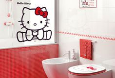 Hello Kitty bathroom Sink is for a midget! Hello Kitty Bathroom, Hello Kitty Rooms, Here Kitty Kitty, Hello Kitty Zimmer, Hello Kitty Haus, Sanrio, Kitty Images, Miss Kitty, Little Twin Stars