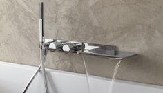 Fantini - Milano miscelatore vasca con cascata