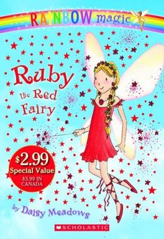 Rainbow Magic Fairies by Daisy Meadows, July 2016 Bookmark: Series for Kids moving on from Beginning Readers, Sandy Courtney, Youth Services Librarian