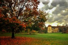 Twitter follower Mike Maney captures this eerie view of Fonthill Castle before Hurricane Sandy.