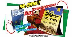 Pre-order Buku 30HariJagoProyek kembali dibuka