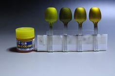 キャンディ塗装 下地で『どんな色に変化するのか?』 : さと山プラモデル