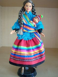 Peruvian Barbie Doll 1998