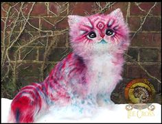 SOLD Handmade Posable POP-TART Kitten! by Wood-Splitter-Lee.deviantart.com on @DeviantArt
