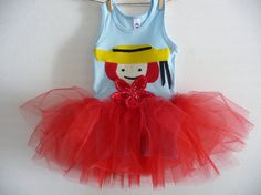 MADELINE TUTU  Tank Top  Dress  Size 2 4 6 8 up to by WhimsyRanch, $38.00