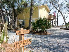 House vacation rental in Saint Helena Island, SC, USA from VRBO.com! #vacation #rental #travel #vrbo