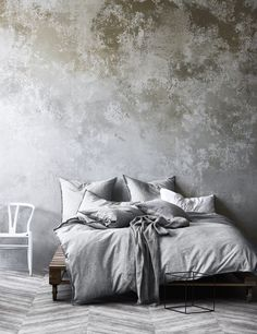 Dove Chambray Fringe Quilt Cover by Aura By Tracie Ellis. Get it now or find more Quilt Cover Sets at Temple & Webster. Master Bedroom, Bedroom Decor, Bedroom Ideas, Bedroom Designs, Decoration Inspiration, Linen Duvet, Quilt Cover Sets, Luxury Bedding, Duvet Covers
