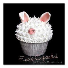 I think its a bunny   bunny ears, piggy nose?  lol