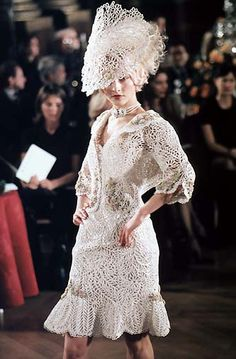 Christian Dior SS Haute Couture 1998 by John Galliano
