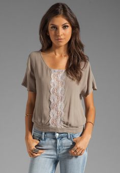 GYPSY 05 Criseida Top in Silver at Revolve Clothing - Free Shipping!