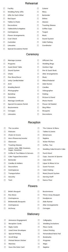 A comprehensive wedding planning checklist! This will keep you on track with your wedding planning and make you feel so much better! http://www.modwedding.com/2014/10/06/top-5-wedding-planning-checklists-keep-track/ #wedding #weddings
