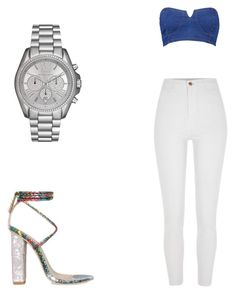 """""""Happy hour outfit"""" by amayne-sanchez on Polyvore featuring River Island, Boohoo and Michael Kors"""