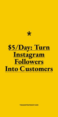 Easily set-up ad campaigns to run Instagram ads for only $5/day that turn your Instagram followers into customers. Launch a high-converting Facebook and Instagram ad campaign for course creators, solopreneurs, and online business owners. This post shows you how easy it is to make Instagram ads that drive more sales. #Instagramadvertising #adcampaignideas Facebook Ads Manager, Instagram Advertising, Ad Campaigns, Advertising Campaign, Online Business, Followers, Day, Fans, Fandom
