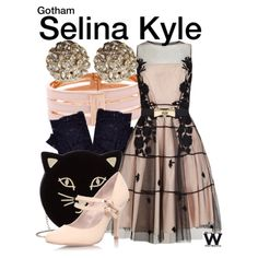 BY REQUEST from dwcourtasan - Inspired by Camren Bicondova as Selina Kyle on Gotham - Shopping info! Disney Themed Outfits, Disney Bound Outfits, Disney Dresses, Nerd Fashion, Fandom Fashion, Fashion Tv, Pastel Goth Fashion, Evening Outfits, Character Outfits
