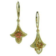 Citrine Earrings in 14 karat gold. https://www.goldinart.com/shop/earring/colored-gemstone-earrings/citrine-earrings-in-14-karat-gold