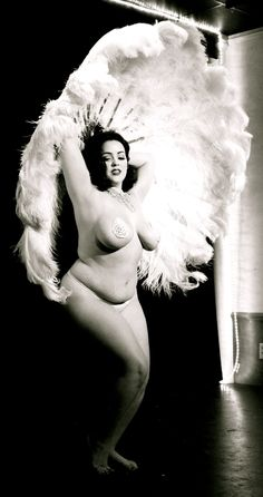 Alana would have admired a woman who was unashamed of her body AND flaunted what she had.