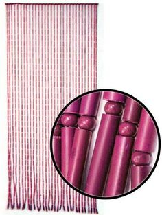 Sold Out Items Page 3 Beaded Curtains - Bamboo Beaded Curtains, Door Beads, Curtain Ideas, Valance Curtains, Eyeshadow, Window, Living Room, Pink, Design