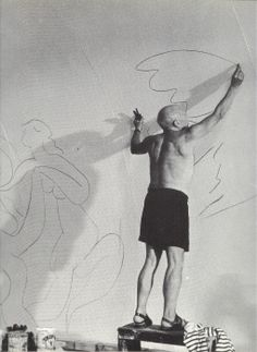 picasso working it