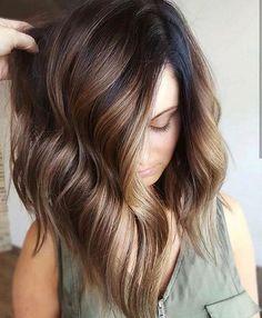 Beautiful hair color ideas perfect for fall | Brown hair with highlights, Coffee hair color,Mocha highlight,hair color idea