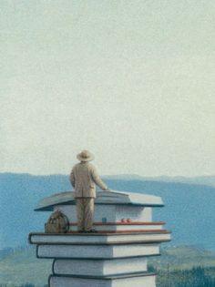 En el país de los libros: llibre de Quint Buchholz sobre els llibres, la lectura i els lectors