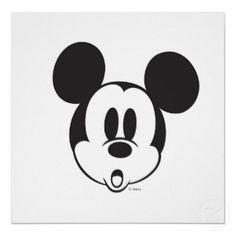 disney mickey heads   Disney Mickey Mouse Little Mermaid