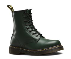Our boots and shoes have become icons, recognized worldwide for their uncompromising looks, durability and comfort. These styles embody all that is true and unique to Dr. Martens. 8 Eyelet 1460 Boot Smooth is the classic Dr. Martens leather; durable, with a smooth finish Dr. Martens air-cushion sole, oil and fat-resistant, offers good abrasion and slip resistance Made with Goodyear welt, the upper and sole are heat-sealed and sewn together