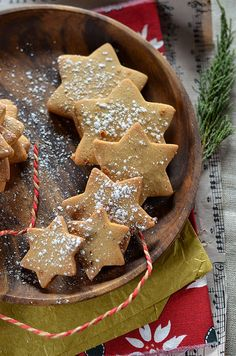 Christmas cookies with spices Gingerbread Cookies, Christmas Cookies, Easy Desserts, Dessert Recipes, Biscuits, Homemade Butter, Warm Food, Cold Meals, Slow Food