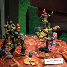 Revoltech - Teenage Mutant Ninja Turtles - I want all of these so damn bad I can hardly stand it (however, I will Make Do with Donnie.  Possibly Raph.  Maybe Mikey and Leo... But definitely Donatello)