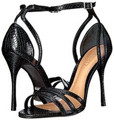 Amazon.com: Schutz Women's Zulia Dress Sandal, Black/Transparent, 7 M US: Shoes