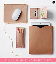 20 Awesome DIY Laptop and iPad Sleeves and Case Projects