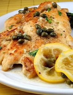 Delicious Italian Chicken Piccata