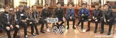 The boys sitting with their legs apart. And then there's Lay. XD Cus lay is fabulous ^_^ Kekekeke. LADIES KEEP THEIR LEGS CLOSED. STAY CLASSY, LAYCHIP.
