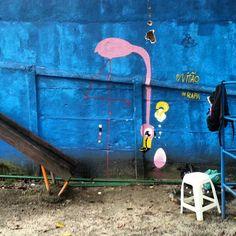 .@Rafael Geraldo | @Beatriz Garcia pra você é pro Vitão! #rafa #flamingo #graffiti #sabadodemanhacrew... | Webstagram - the best Instagram viewer