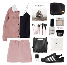 """""""Newchic 3.2"""" by jesicacecillia ❤ liked on Polyvore featuring Dogeared, Gucci, adidas, NARS Cosmetics, Urban Decay, newchic and lovenewchic"""