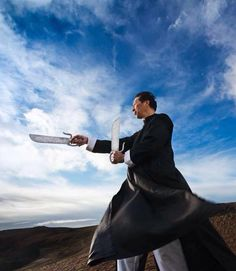 The Blind Ninja           - Grandmaster Samuel Kwok with Butterfly Swords   ...