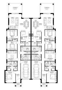 Redleaf 40 - Duplex Level - Floorplan by Kurmond Homes - New Home Builders Sydney NSW