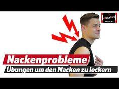 Rückenschmerzen - Nackenschmerzen - Blockade selber lösen - YouTube