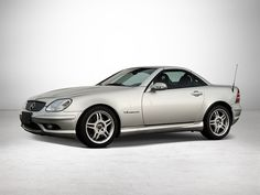 Mercedes-Benz SLK 32 AMG Roadster. Only 263 right hand cars were ever made. I own one of them!
