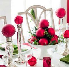 Decoração Natalina - http://www.dicasdecoracao.com/decoracao-natalina/