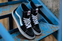 Vans+Tenisky+U+SK8-HI+Navy+/+Black+