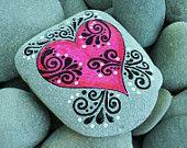 Love is Beautiful /  Painted Rock /Sandi Pike Foundas