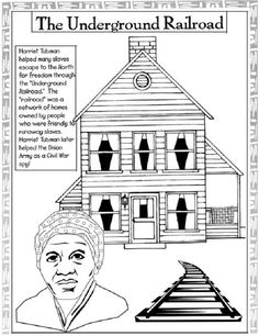every month is black history month black history coloring pages harriet tubmanjackie robinson