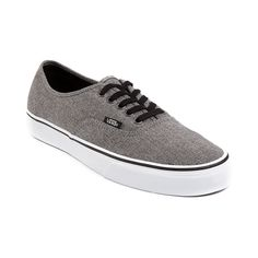 Shop for Vans Authentic Skate Shoe, Gray White, at Journeys Shoes. The Authentic from Vans is always in style. Comin to you featuring a graywhite upper with lace closures and rubber waffle tread outsole.
