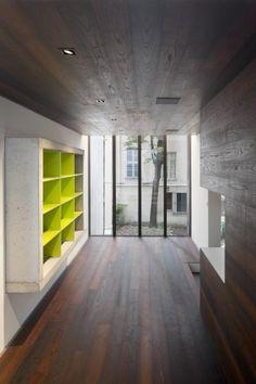 Maison Escalier / Moussafir Architectes Associés © Hervé Abbadie