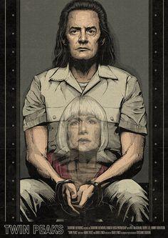 Twin Peaks Poster - Season 3 Episode 7 by CrisVector.deviantart.com on @DeviantArt