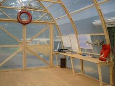 Arctic tern boat shed